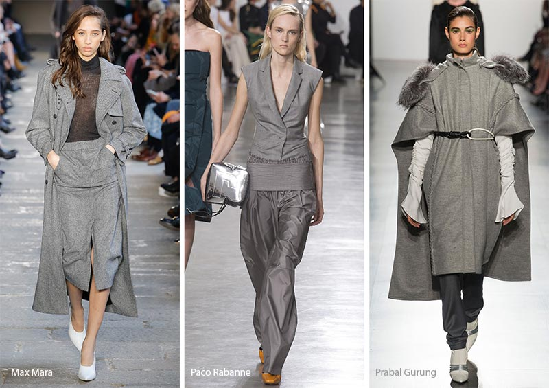 fall winter 2017 2018 color trends neutral gray