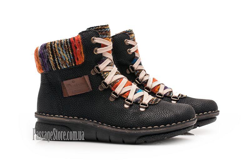 8998d4b82 Женские ботинки Rieker 73343-00 | PassageStore