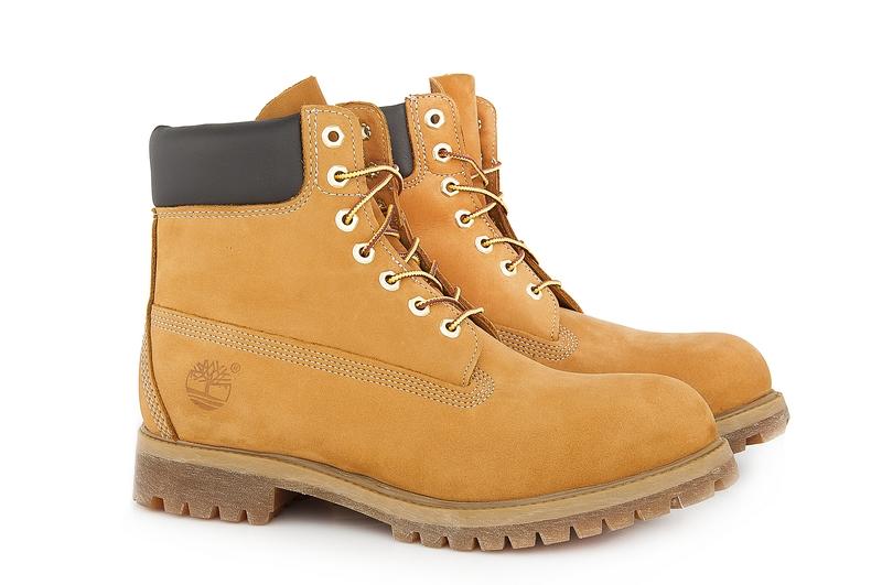 Ботинки Timberland мужские желтые  646ed66721ddf