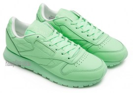 Женские кроссовки Reebok Classic Leather Mint Green BD2773