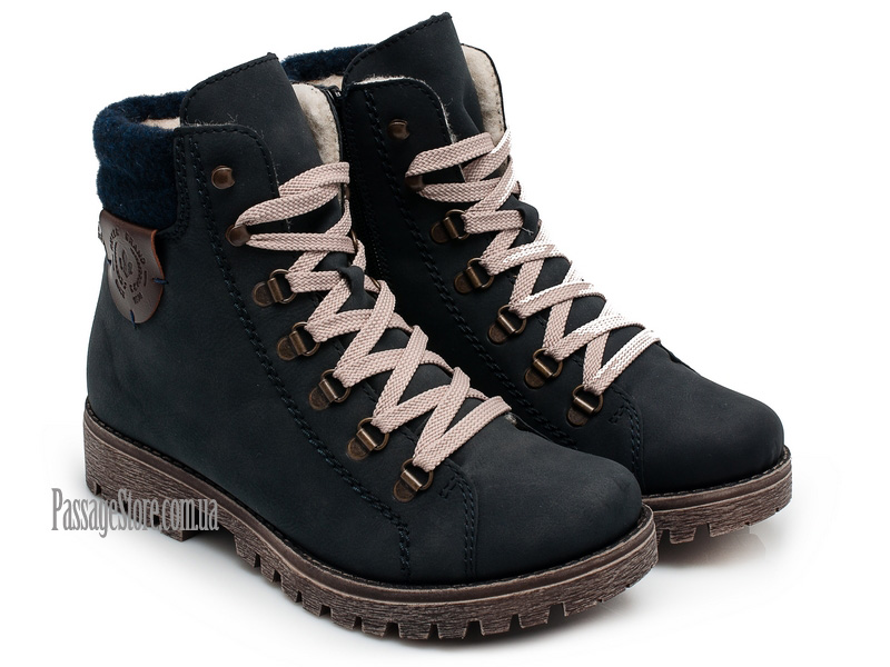 741dcb8bd Женские зимние ботинки Rieker 785F8| PassageStore